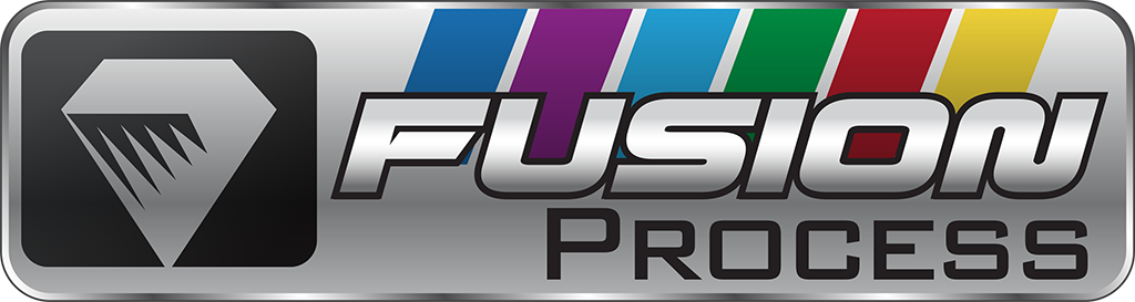 Fusion wash process logo